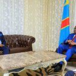 Balozi Vincent Karega wa Rwanda alikutana na Rais wa DRC na kuzungumza maswala kadhaa